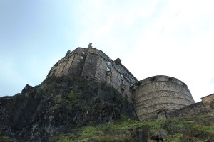エディンバラ城1