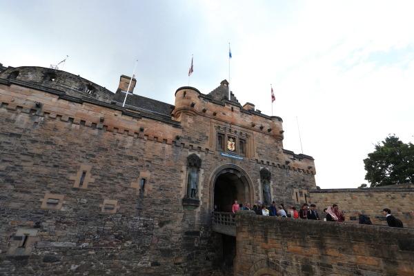 エディンバラ城2
