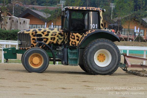 馬場整備のトラクター2