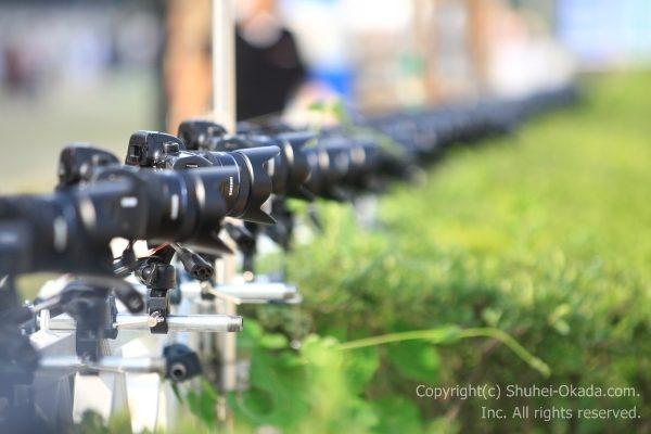 4Dカメラ群